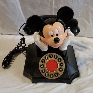 Vintage Mickey mouse desk telephone